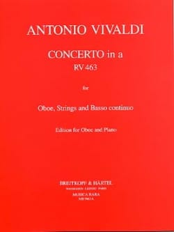 VIVALDI - Concerto in minor RV 463 F. 7 No. 13 - Oboe piano - Sheet Music - di-arezzo.co.uk