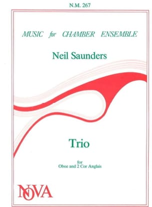 Neil Saunders - Trio - Oboe 2 English Horn - Score Parts - Sheet Music - di-arezzo.com