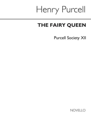 Henry Purcell - The Fairy Queen – Score - Partition - di-arezzo.fr