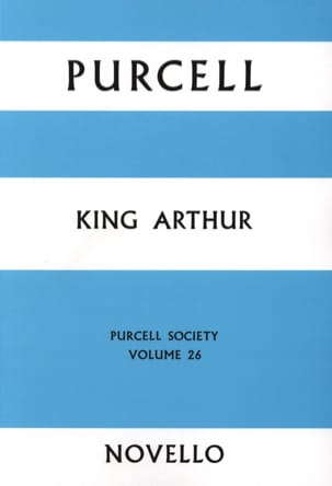 King Arthur - Score - Henry Purcell - Partition - laflutedepan.com