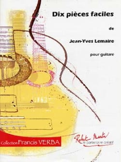 Jean-Yves Lemaire - 10 Easy Parts - Sheet Music - di-arezzo.com