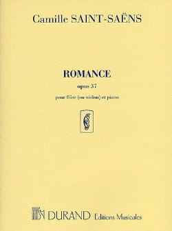 Camille Saint-Saëns - Romance op. 37 - Flute or piano violin - Sheet Music - di-arezzo.co.uk