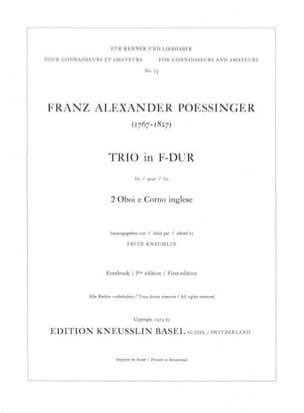 Trio in F-Dur -2 Oboen Englischhorn laflutedepan