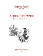 A simple serenade - Flute oboe clarinet bassoon - Score + Parts laflutedepan
