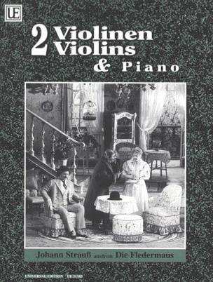 Die Fledermaus – 2 Violinen Klavier - laflutedepan.com