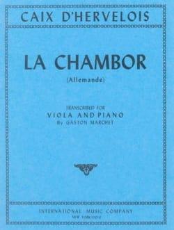 La Chambor - Alto - d'Hervelois Louis de Caix - laflutedepan.com