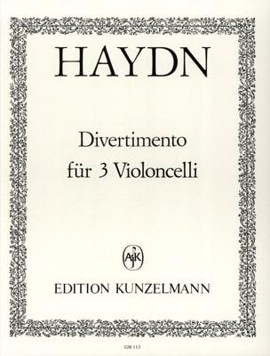 Joseph Haydn - Divertimento für 3 Violoncelli - Partition - di-arezzo.fr