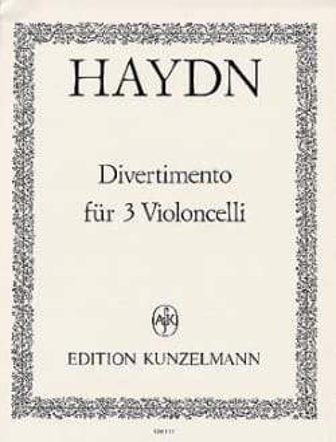 Divertimento für 3 Violoncelli - HAYDN - Partition - laflutedepan.com