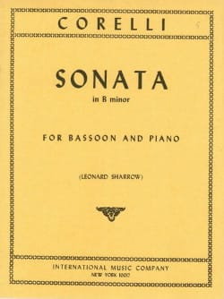 Sonata in B minor op. 5 n° 8 - Bassoon CORELLI Partition laflutedepan