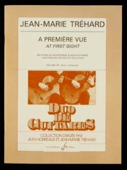 A première vue - Volume 3 Jean-Marie Trehard Partition laflutedepan