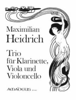 Maximilian Heidrich - Trio op. 33 -Klarinette Viola Violoncello - Partition - di-arezzo.fr