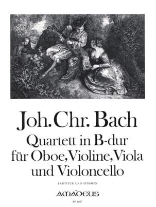 Johann Christian Bach - Quatuor en Sib Maj. - Partitur + Stimmen - Partition - di-arezzo.fr
