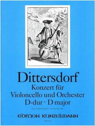 Carl Ditters von Dittersdorf - チェロ協奏曲Dメジャー - 楽譜 - di-arezzo.jp