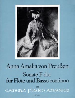 Sonate F-Dur - Flöte u. Bc Amalia Anna Von Preussen laflutedepan
