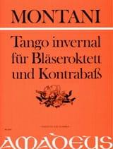 Pietro Montani - Tango Invernal - Octuor A Vents - Contrebasse - Partition - di-arezzo.fr