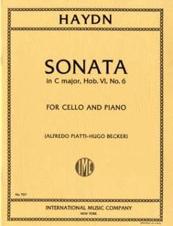 Sonata in C major Hob. 6 n° 6 - Joseph Haydn - laflutedepan.com