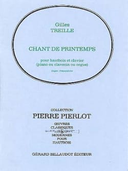 Chant de printemps - Gilles Treille - Partition - laflutedepan.com