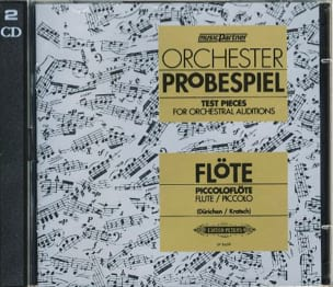 Orchester Probespiel CD - Flute - Partition - di-arezzo.co.uk
