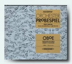 - Orchester - Probespiel CD - Oboe - Sheet Music - di-arezzo.co.uk