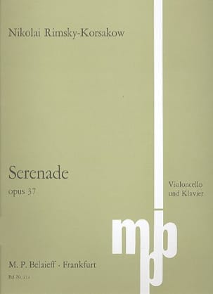 Sérénade op. 37 - Nicolaï Rimsky-Korsakov - laflutedepan.com