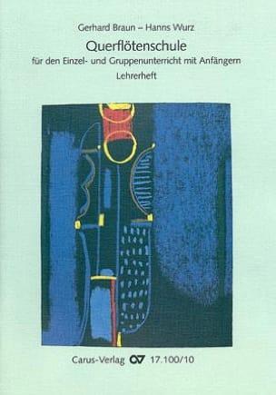 Braun Gerhard / Wurz Hanns - Querflötenschule - Lehrerheft - Sheet Music - di-arezzo.com