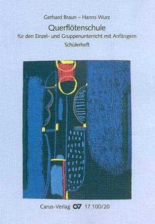 Braun Gerhard / Wurz Hanns - Querflötenschule - Schülerheft - Sheet Music - di-arezzo.com