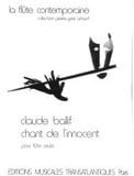 Claude Ballif - Song of the innocent - Sheet Music - di-arezzo.com