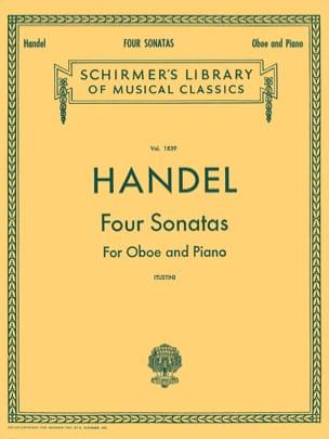 4 Sonatas - Hautbois - HAENDEL - Partition - laflutedepan.com