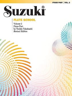 Suzuki - Flute School - Volume 2 – Piano Part - Partition - di-arezzo.fr