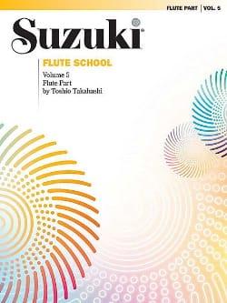 Flute School - Volume 5 - Flute Part Suzuki Partition laflutedepan