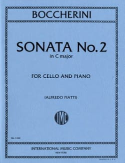 Sonata n° 2 in C major – Cello - Luigi Boccherini - laflutedepan.com