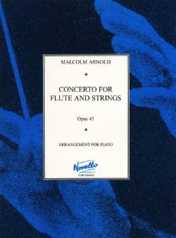 Concerto for flute and strings op. 45 - Flute piano - laflutedepan.com