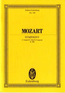 MOZART - Symphonie C-Dur KV 200 - Partitur - Partition - di-arezzo.fr