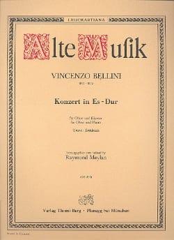 Vincenzo Bellini - Konzert In Es-Dur - Oboe Klavier - Partition - di-arezzo.com