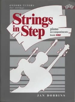 Dobbins Jan / Hall Pauline - Strings in step, book 1 - Piano accompaniments - Sheet Music - di-arezzo.com