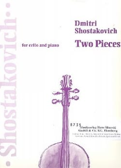 2 Pieces Extr. Ballet Suite N° 2 CHOSTAKOVITCH Partition laflutedepan
