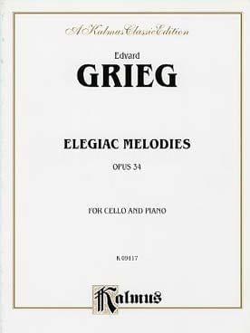 Edvard Grieg - Elegical Melodies - Opus 34 - Sheet Music - di-arezzo.com