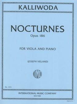 Johannes Wenzeslaus Kalliwoda - Nocturnes op. 186 - Partition - di-arezzo.fr