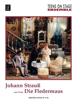 Die Fledermaus - Ensemble Johann (Fils) Strauss Partition laflutedepan