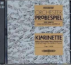 - Orchester Probespiel CD Clarinette - Partition - di-arezzo.fr