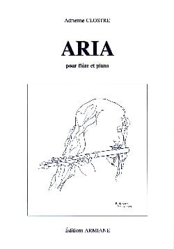 Adrienne Clostre - Aria - Sheet Music - di-arezzo.co.uk