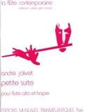 André Jolivet - Small suite - Sheet Music - di-arezzo.com