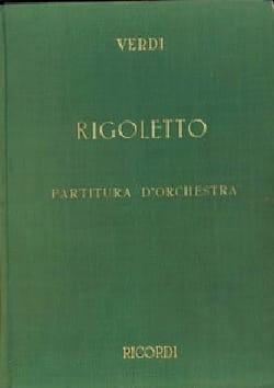 Giuseppe Verdi - Rigoletto (ancienne édition) - Partitura - Partition - di-arezzo.fr