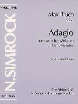 Adagio op. 56 BRUCH Partition Violoncelle - laflutedepan
