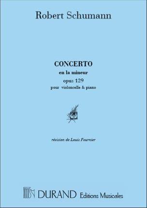 SCHUMANN - Konzert in a-Moll op. 129 - Noten - di-arezzo.de