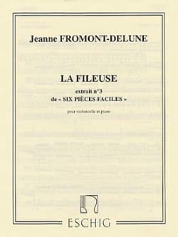 J. Fromont-Delune - 6 Easy Parts - # 3: The Spinner - Sheet Music - di-arezzo.co.uk