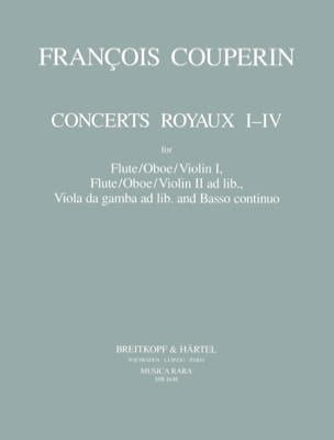 François Couperin - Royal Concerts No. 1-4 - Sheet Music - di-arezzo.co.uk