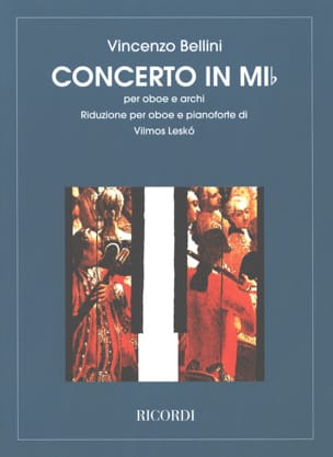 Vincenzo Bellini - Concerto in mi bemolle by Oboe - Sheet Music - di-arezzo.co.uk