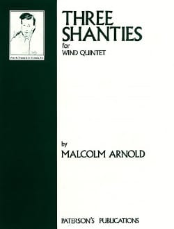 Malcolm Arnold - 3 Shanties for wind quintet – Parts - Partition - di-arezzo.fr