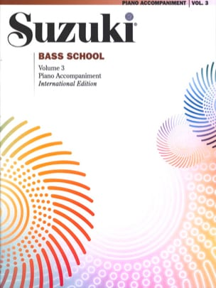 Suzuki - Bass School – Piano Accomp. Volume 3 - Partition - di-arezzo.fr